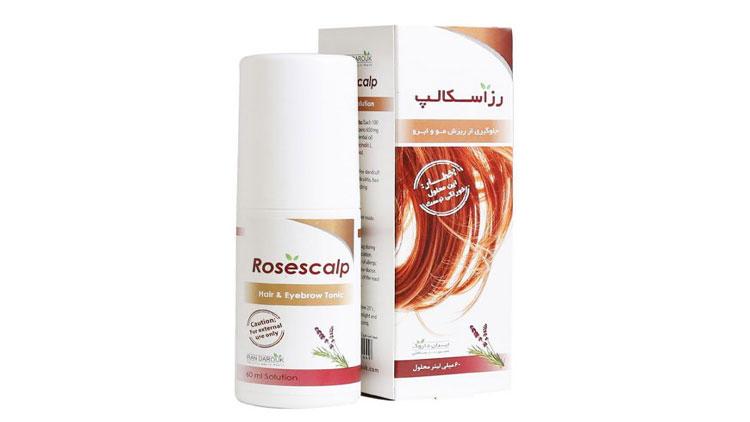 دارونامه؛ آشنایی با محلول رز اسکالپ(Rosescalp)، داروی جلوگیری از ریزش مو